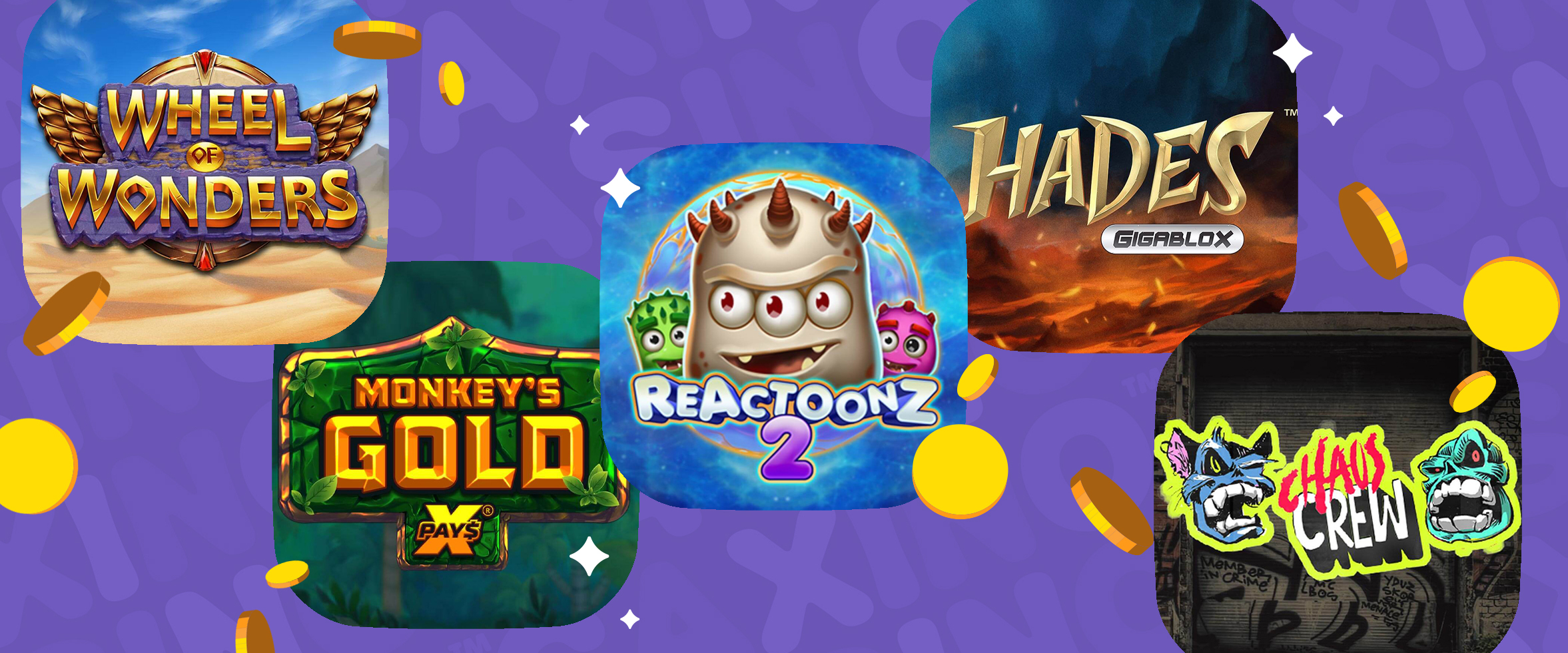 The Biggest New Slot Releases at Caxino