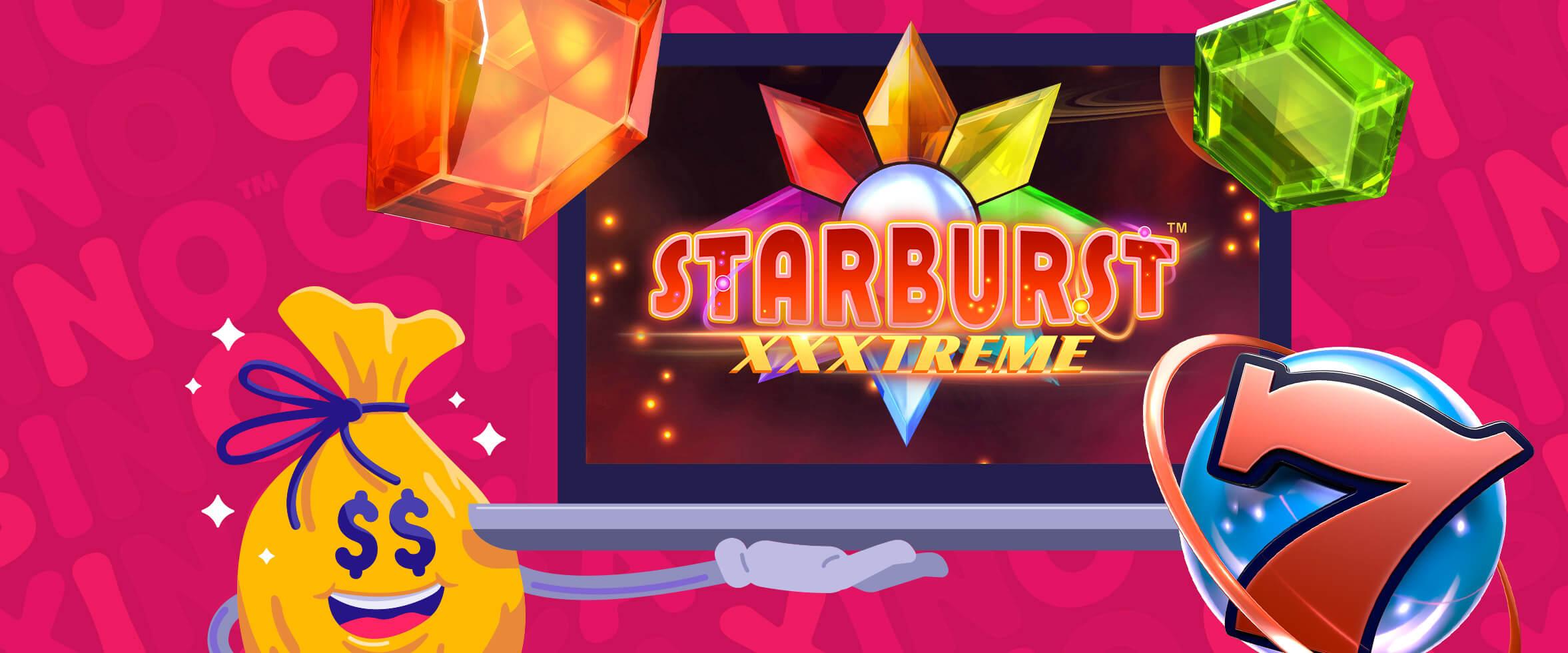 Kokeile Starburst XXXtreme -peliä Double Speedillä