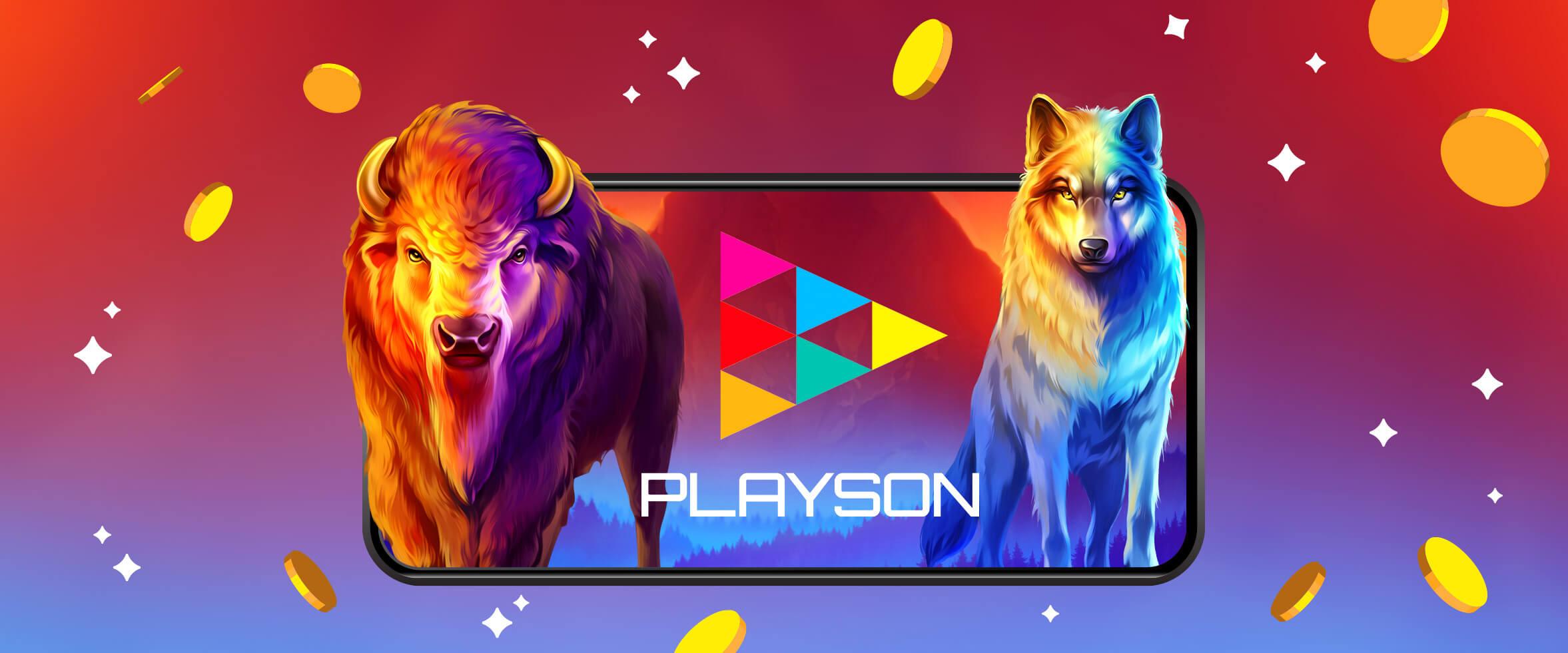 Erkunde Playsons Spiele mit doppelter Geschwindigkeit