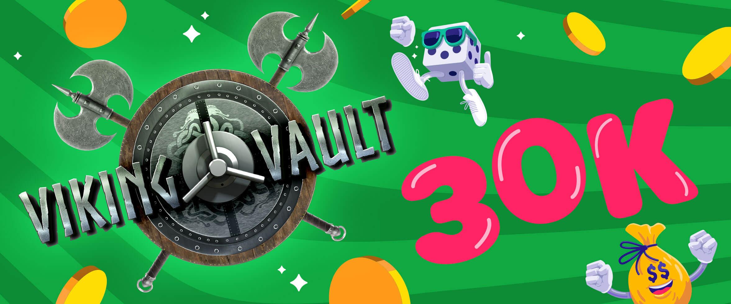 """Les prix """"Jackdrops"""" de VIKING VAULT: 30000 $ à gagner!"""